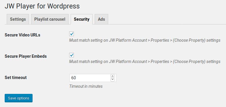 JW Player for WordPress - Premium - 6