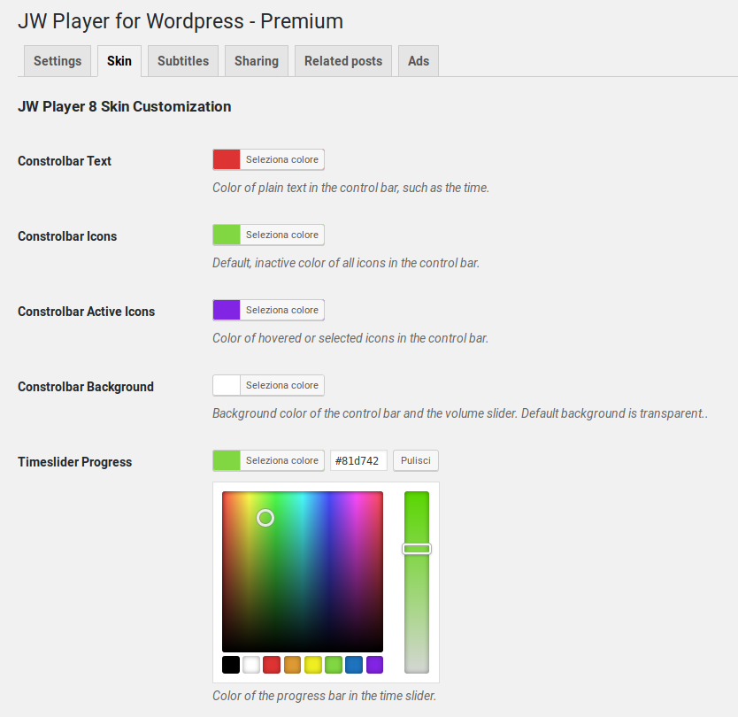 JW Player for Wordpress - Premium