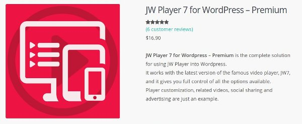 Go to JW Player 7 for WordPress - Premium!
