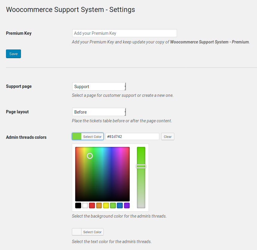WooCommerce Support System - 1